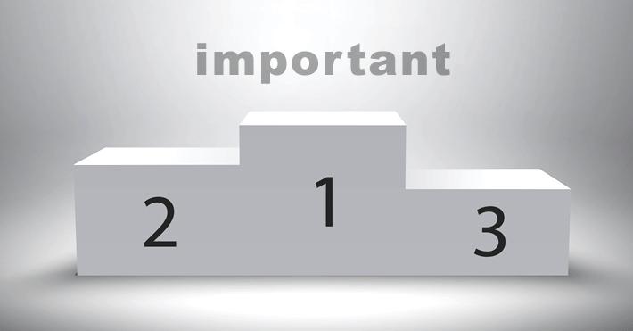 情報の優先性を考慮し、見せ方を考えよう